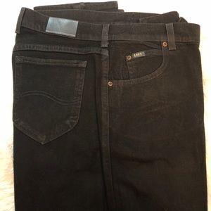 Black Original Lee jeans size 14 L